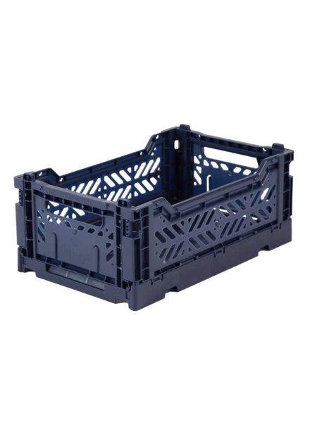 Eef Lillemor Folding Crate - Mini Navy