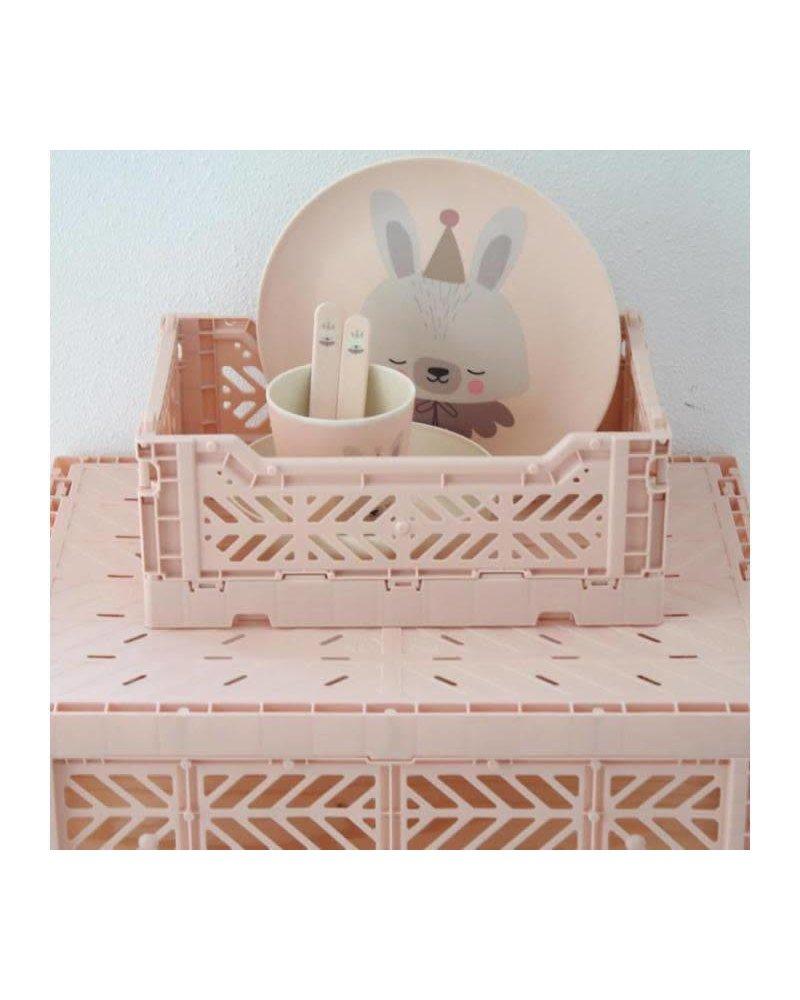 Eef Lillemor Folding Crate - Midi Milk Tea