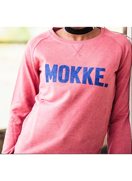 Ket.Official Sweater Mokke - cranberry