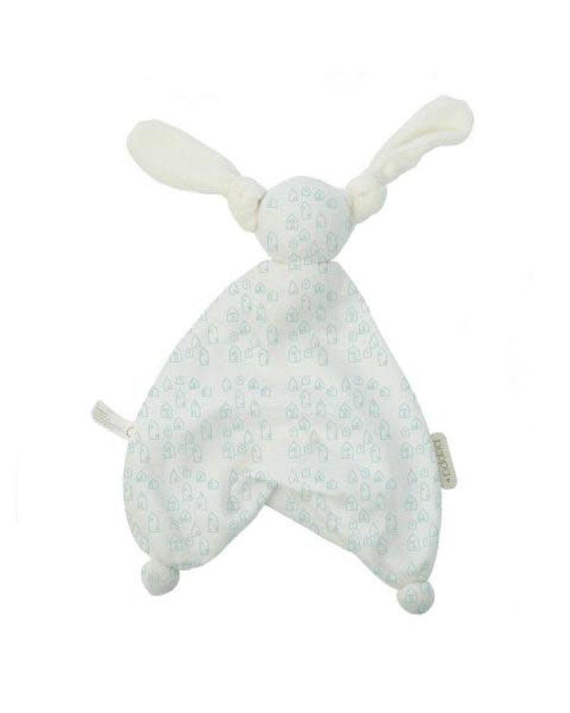 Hoppa Floppy Muslin houses white/mint