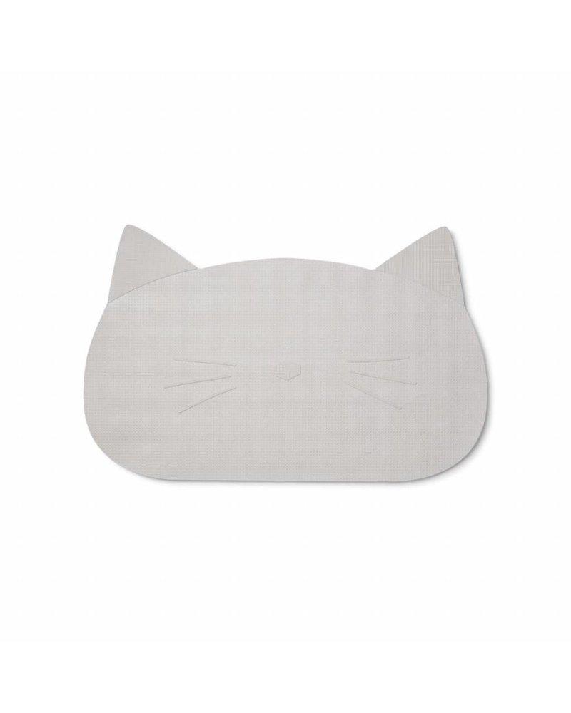 Liewood Storm badmat - Cat Dumbo Grey