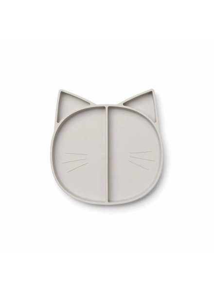 Liewood Maddox Multi Plate - Cat Dumbo Grey