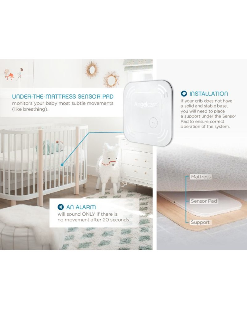 Angelcare Movement & Sound Monitor - Wireless SP - AC117