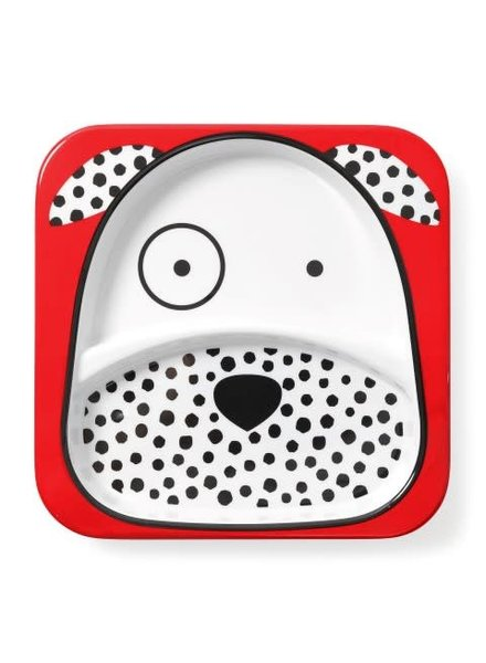 Skip Hop Zoo Divided Plate - Dalmation