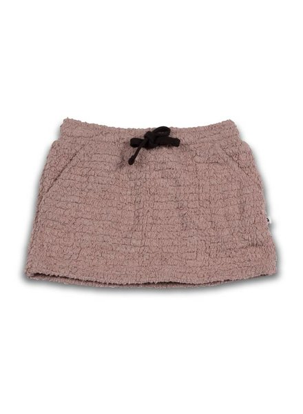 Cos I Said So MINI SKIRT - teddy bouclé/fawn