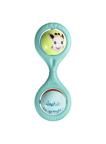 Sophie de Giraf Sophie La Girafe - Hochet Twist Blauw
