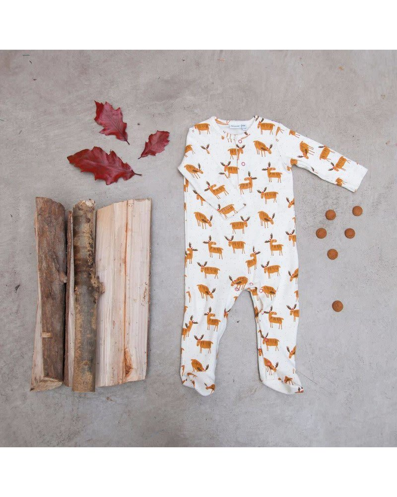 Trixie Baby Onesie with feet - Christmas