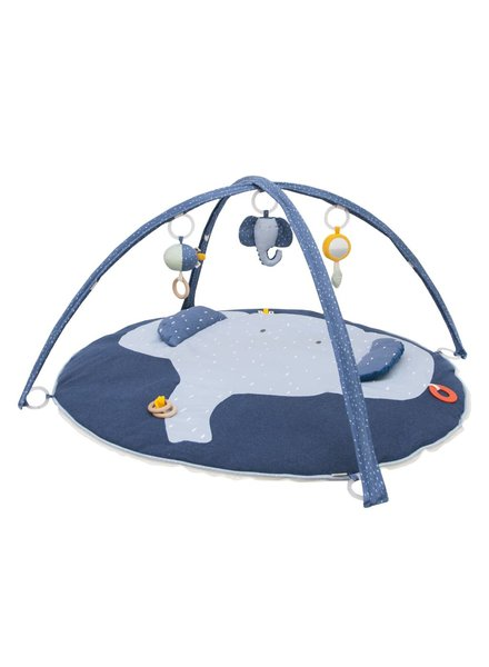 Trixie Baby Toy range | Activity play mat with arches - Mrs. Elephant - 24-285