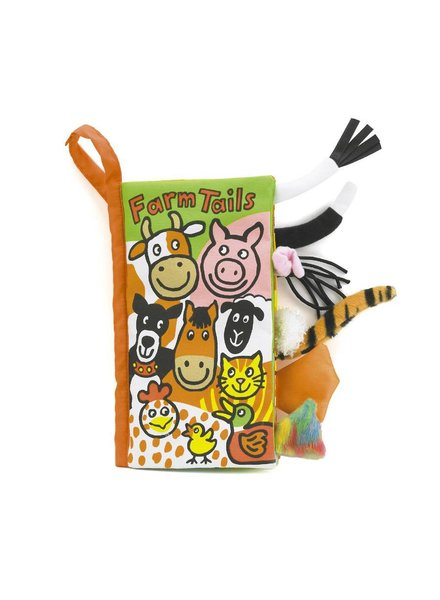 Jellycat Tails Farm Book