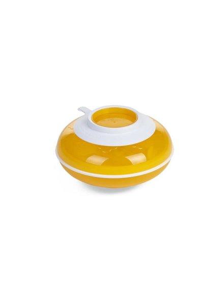 Childhome Warmtebord + bestek Yolk Yellow