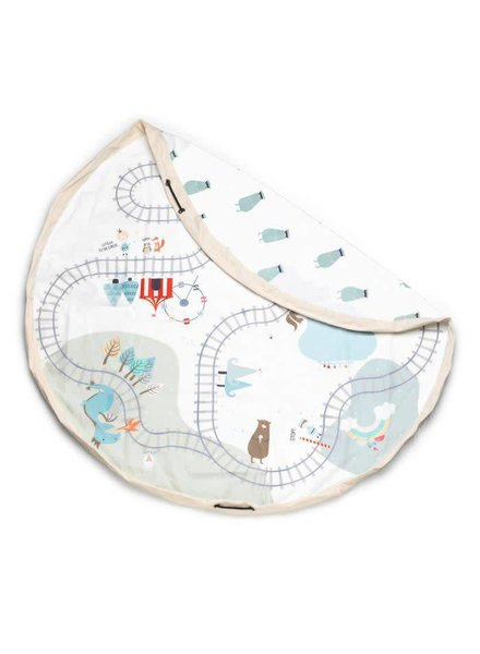 Play&go Trainmap/bears toy storage bag