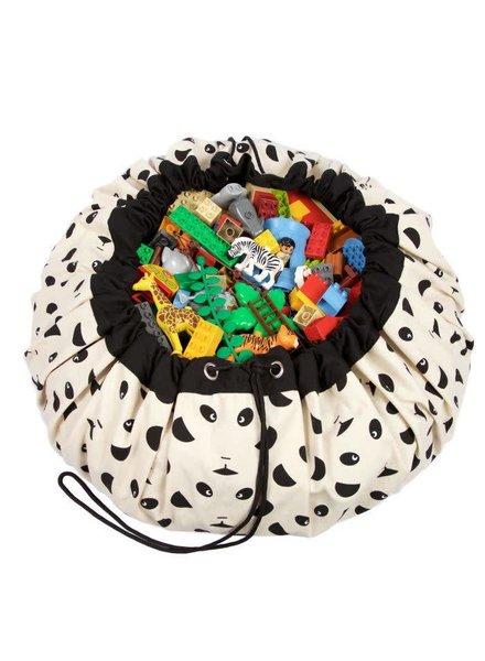 Play&go Panda toy storage bag