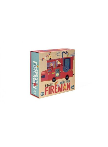 Londji I want to be a... fireman PUZZLE