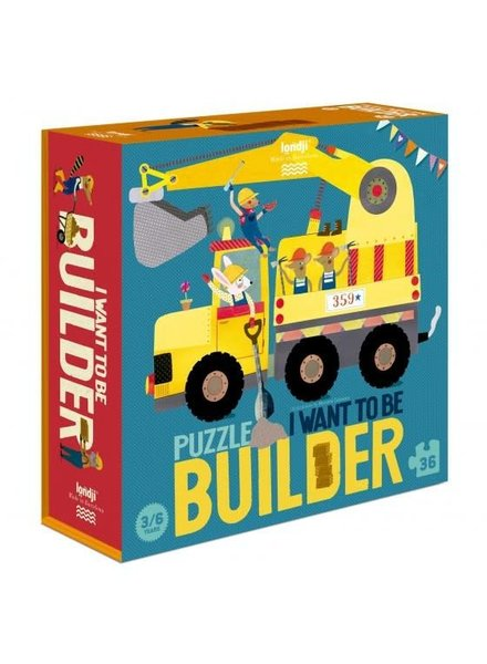 Londji I want to be a... builder PUZZLE