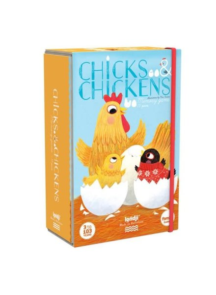 Londji Chicks and chickens memo