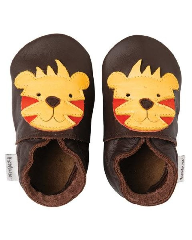Bobux Soft Sole - Tiger chocolate - 2XL