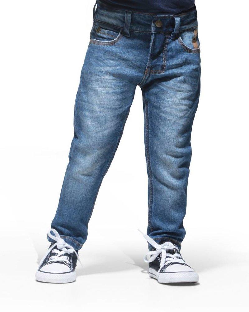 Imps & Elfs 6-Pocket Tapered Fit - Ocean blue - maat 68 & 74