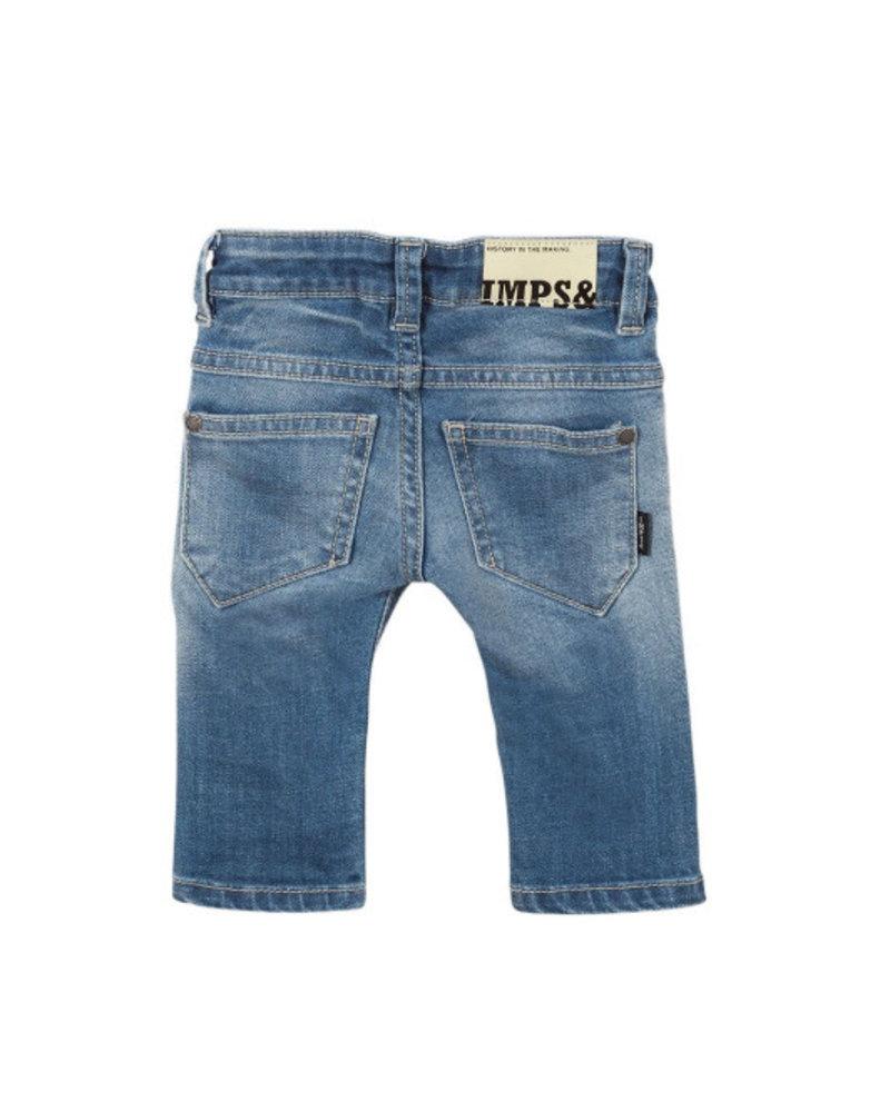 Imps & Elfs 6-Pocket Slim - Mid bleach - Maat 68, 80 & 86