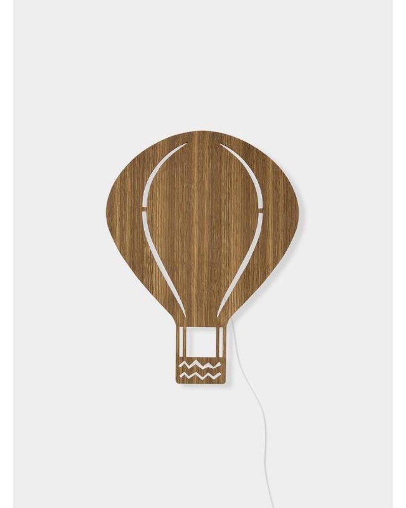 Ferm Living Air Balloon Lamp - Smoked Oak