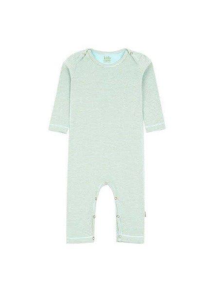 Kidscase Perrie organic NB suit light blue - maat 50