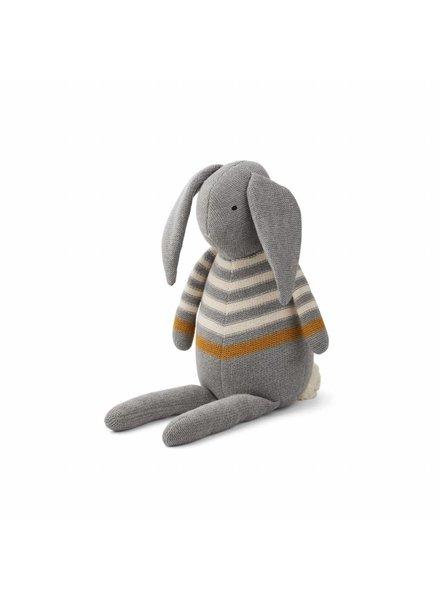 Liewood Dextor knit teddy - Grey Melange