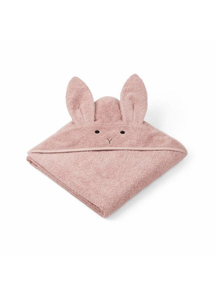 Liewood Augusta Hooded Towel - Rabbit Rose