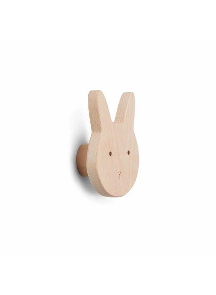 Liewood Ida Knob - Rabbit natural