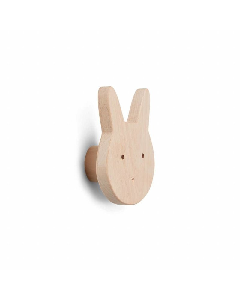 Liewood Ida Knob - Rabbit natural