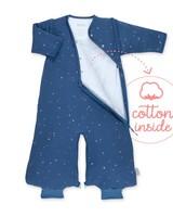 BeMini MAGIC BAG® / 3-9m / jeans blauw / pady jersey / tog 3