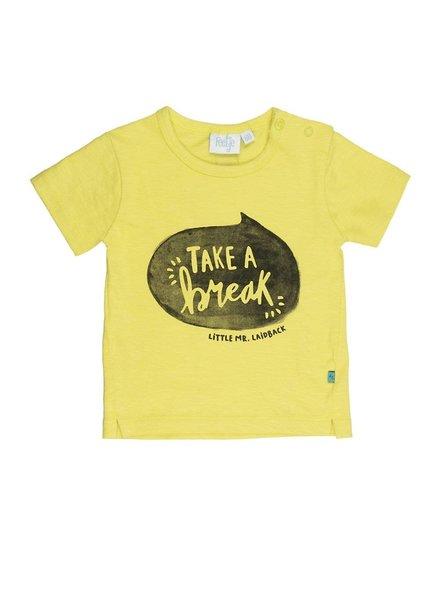 Feetje T-shirt k/m take a break Mr. Laidback