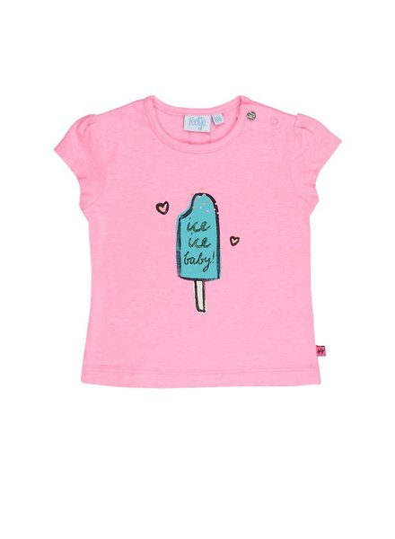 Feetje T-shirt k/m ice Tropical girl