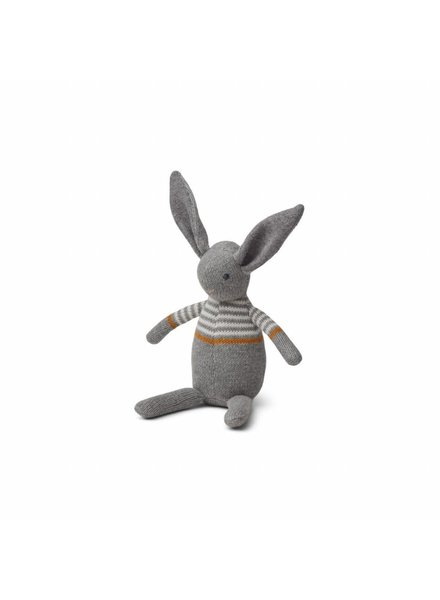 Liewood Vigga Knit Mini Teddy - Rabbit Grey Melange