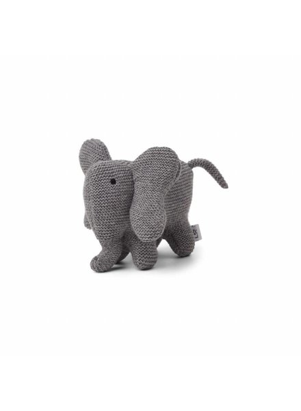 Liewood Vigga Knit Mini Teddy - Elephant Grey Melange