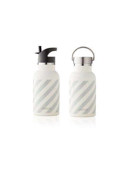 Liewood Anker water bottle - Dumbo grey/creme de la creme