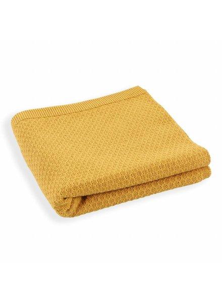 Mundo Melocoton Organic Blanket Knitwear - Cinnamon