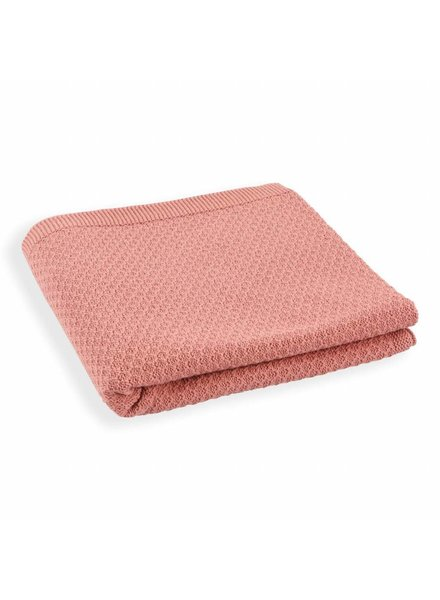 Mundo Melocoton Organic Blanket Knitwear - Blush