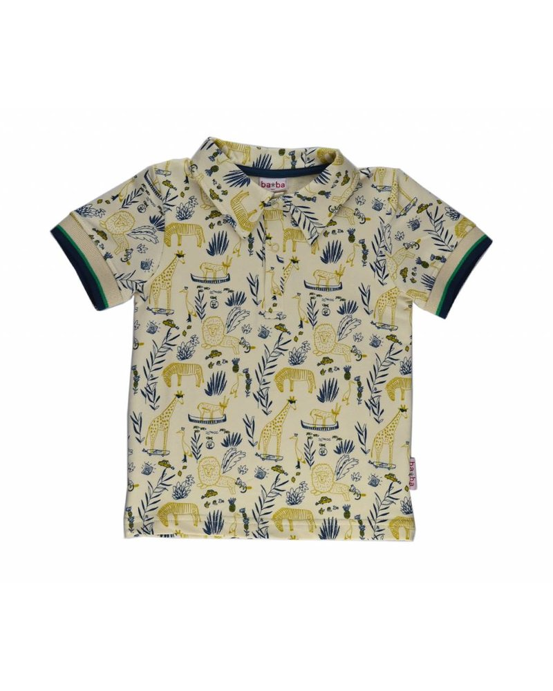 Baba Babywear Polo shirt - Jungle