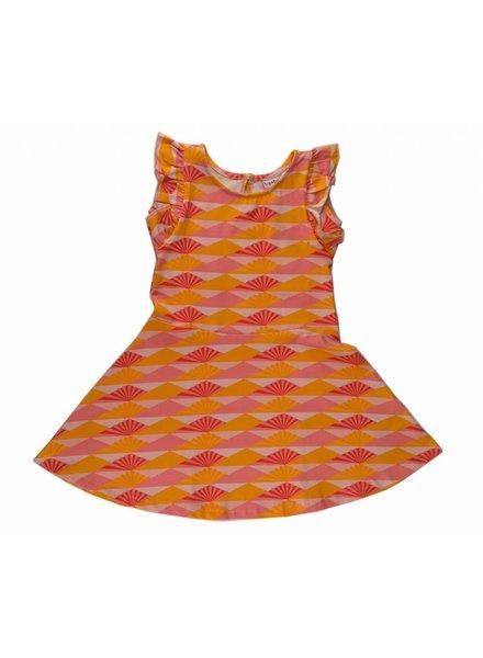 Baba Babywear Waist dress - Sunset