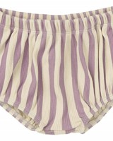 Sproet & Sprout Bloomers 'Stripe' shell & dusty violet