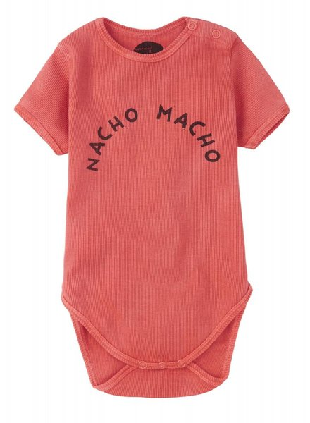 Sproet & Sprout Romper 'Nacho Macho'  red pepper