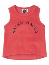 Sproet & Sprout Tanktop 'Nacho Macho'  red pepper