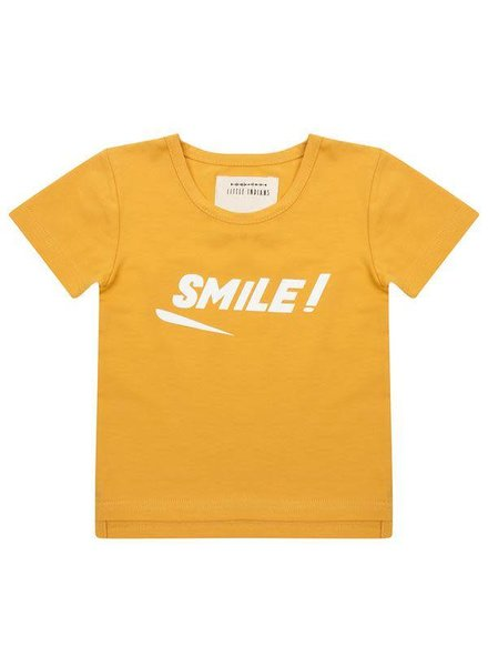 Little Indians Shirt Smile - Oker