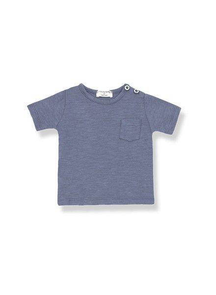1 + In the Family Domenico - short sleeve t-shirt - Indigo
