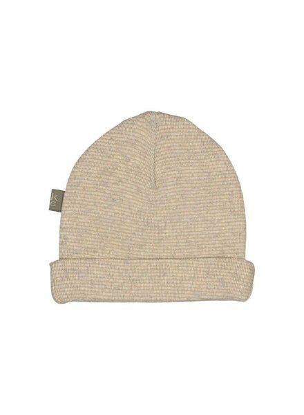 Kidscase Honey organic NB hat - off white - Maat 0/3M