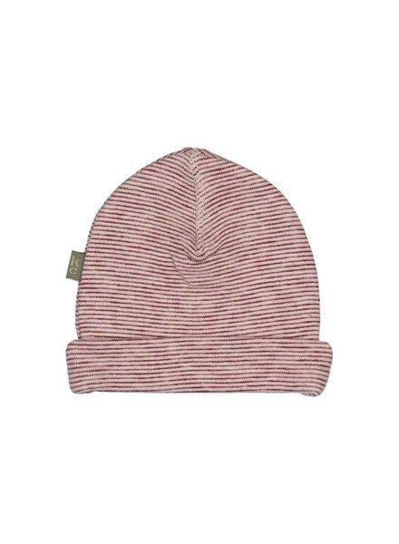 Kidscase Honey organic NB hat - light pink - Maat 3/6M & 6/12M
