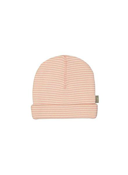 Kidscase Sky organic hat pink - Maat 0/3M, 3/6M & 6/12M