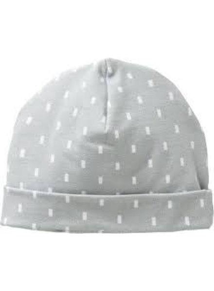 Cottonbaby Babymuts rain grijs - Maat S
