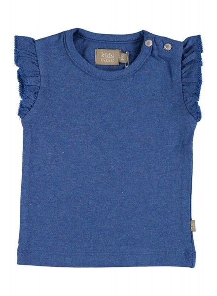 Kidscase Hunter organic baby top - blue