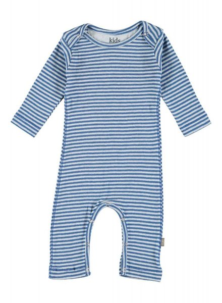 Kidscase Roman organic NB suit - blue