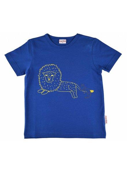 Baba Babywear T-shirt boy lion - Blue